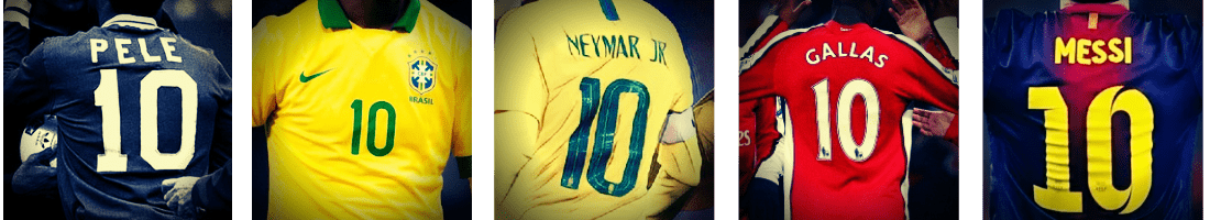 Best Soccer Jersey Numbers - number 10
